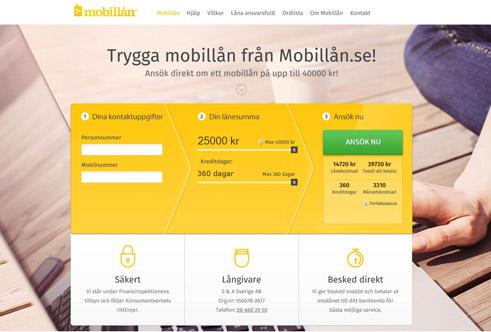 mobillån nordea